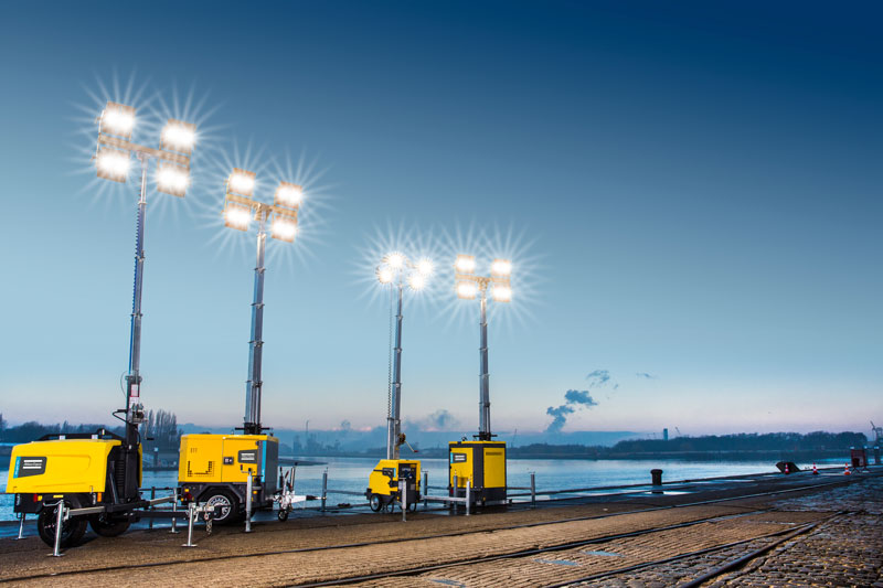 Atlas -Copco -Hi Light -lighting -towers